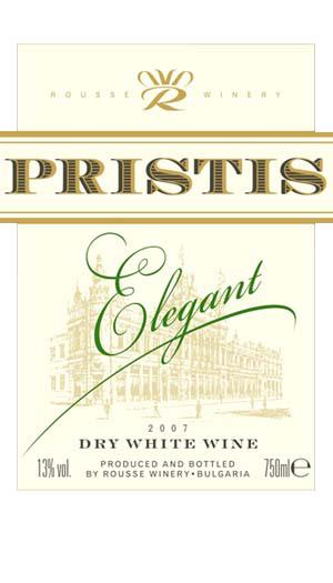 Pristis_Elegant_etiket